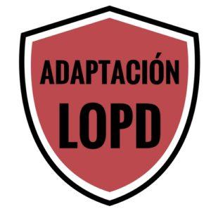 Escudo de LOPD
