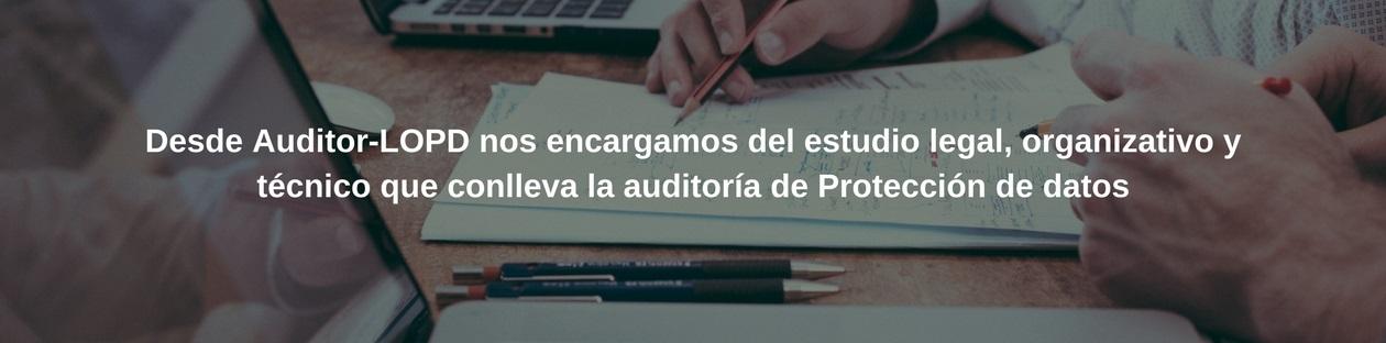 Informe de auditoría bianual por Auditor-LOPD