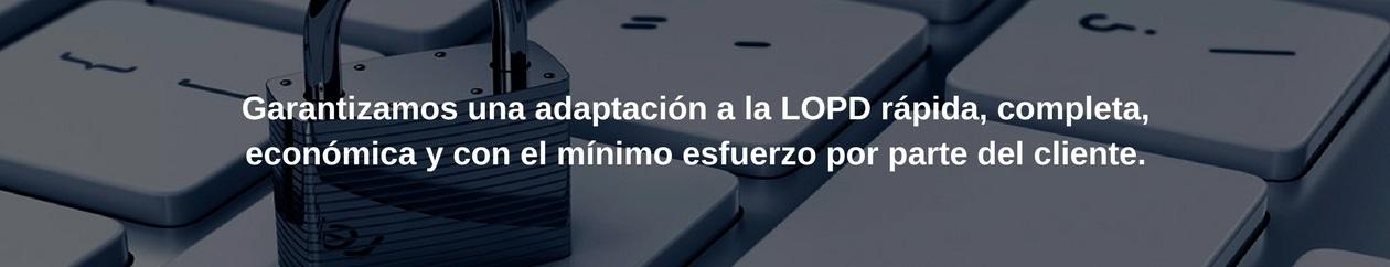 Máximas Garantías de Auditor-LOPD en el proceso de adaptación.